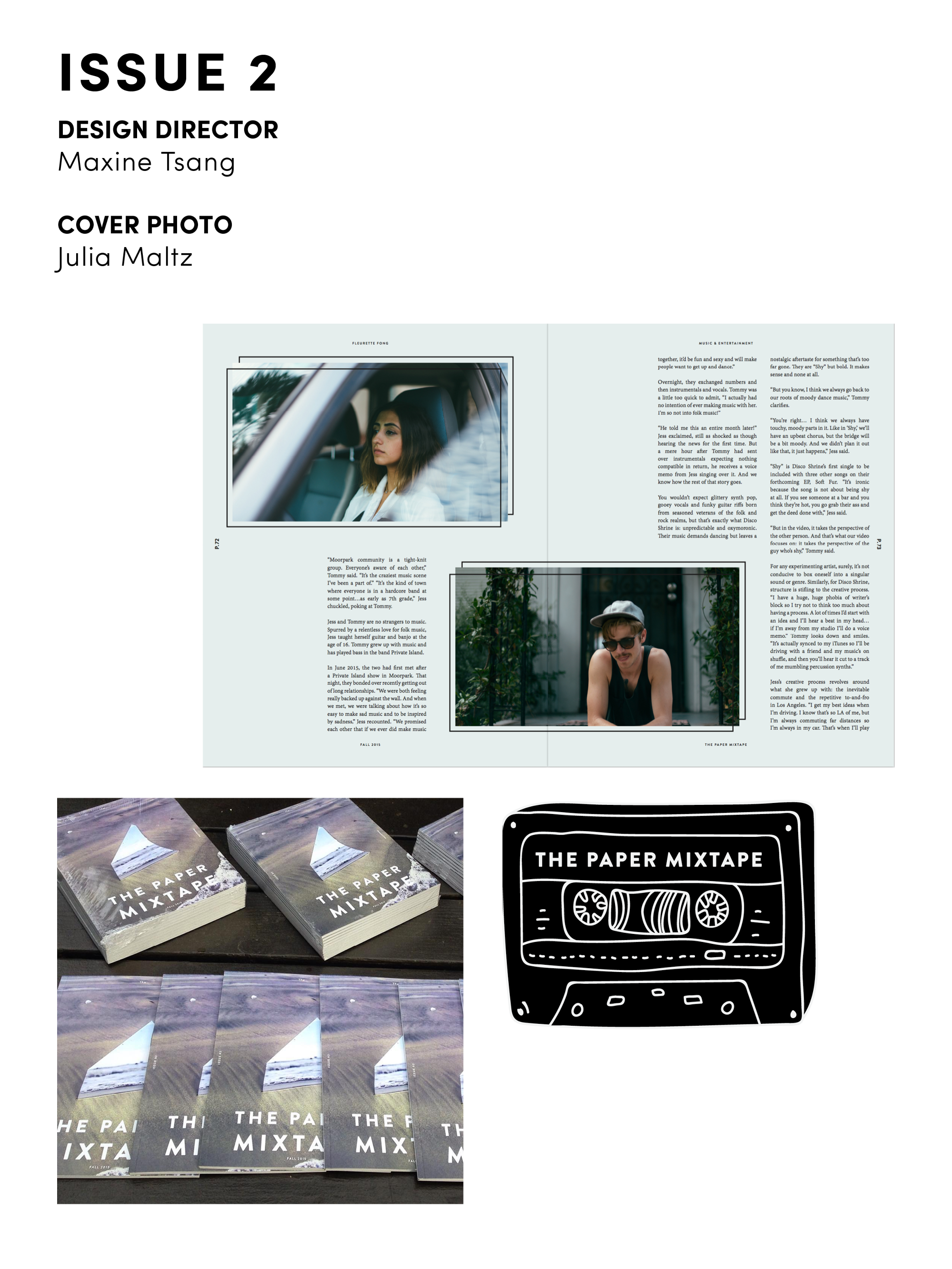 The paper mixtape morgan cadigan additional credits issue 1 tee artwork isabella kelly ramirez issue 2 article fleurette fong photos olivia lim issue 3 photo julia maltz issue 4 photo alex ccuart Images